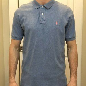 Polo Ralph Lauren Polo Shirt (size Medium) Blue
